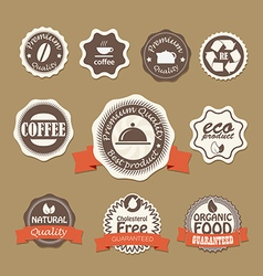 Insignia set vector