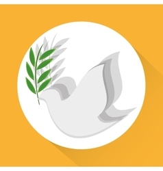 Peace icon design vector