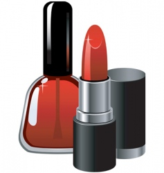 cosmetic vector image vector image