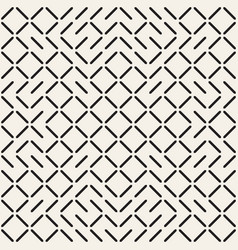 geometric ethnic background with symmetric lines vector image vector image