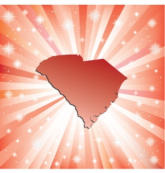 Red south carolina vector