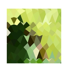 Apple Green Abstract Low Polygon Background vector image