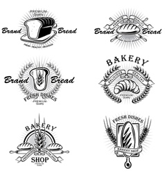 Bakery Badges vector image