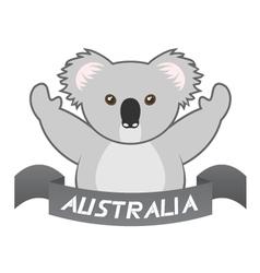 Koala symbol vector
