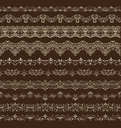 Vintage seamless ornament vector
