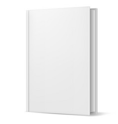 White book on white background for design vector