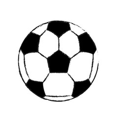 Soccer or football ball icon image vector