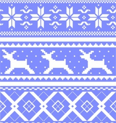 winter design elements vector image vector image
