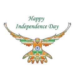 Happy india independence day independence day vector
