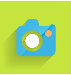Camera icon flat modern design vector