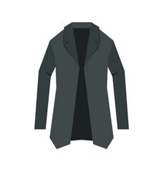 Jacket icon flat style vector