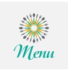 Restaurant menu background template vector