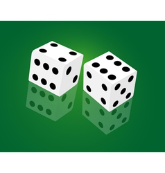 casino dice game vector image