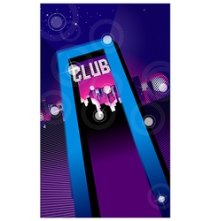 Club entrance vector