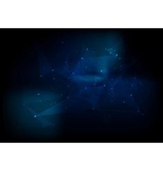 Dark abstract hi-tech background vector
