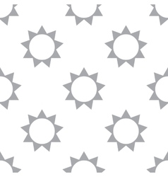 New sun seamless pattern vector
