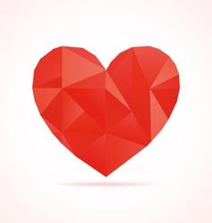 Scrappy heart2 vector image vector image