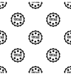 Vintage icon in black style isolated on white vector