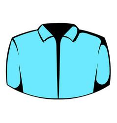 dress shirt icon icon cartoon vector image