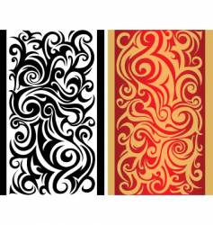 tribal boarder pattern vector image