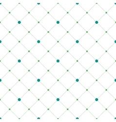 Circles and diamonds seamless pattern vector image