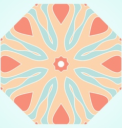 Symmetrical decorative design vector