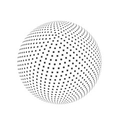 Abstract sphere element vector