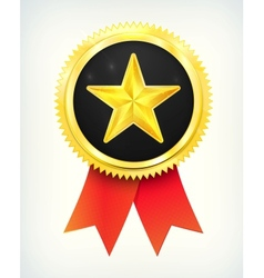 best choice golden star vector image