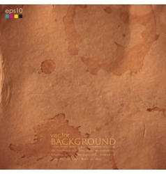 abstract background with grunge cardboard texture vector image vector image