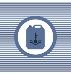 Automotive water color flat icon vector
