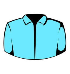 dress shirt icon icon cartoon vector image vector image