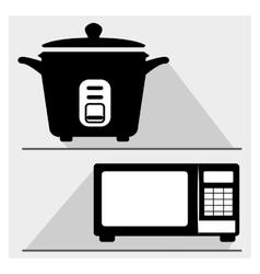 Kitchen appliance vector