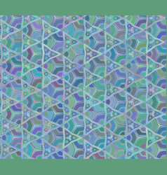 seamless abstrac unusual triangular pattern vector image vector image