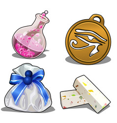 set of items for games or other design needs vector image vector image