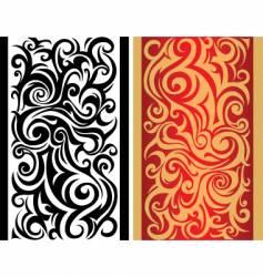 Tribal boarder pattern vector