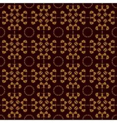 Seamless symmetry print rorschach inkblot test vector