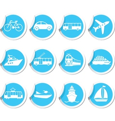 Transport icons12 vector