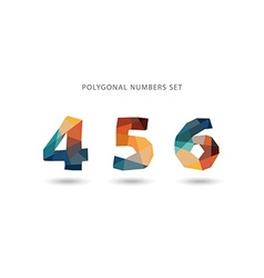 Set of polygonal numbers vector