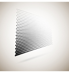 Abstract halftone dots vector