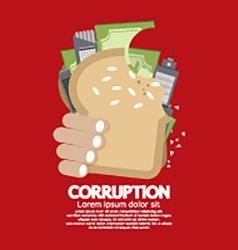 Corruption Concept vector image vector image