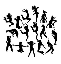 Fun hip hop expression vector
