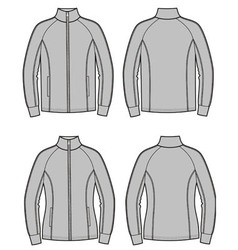 Sport jacket vector image