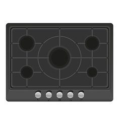 Surface for gas stove 01 vector