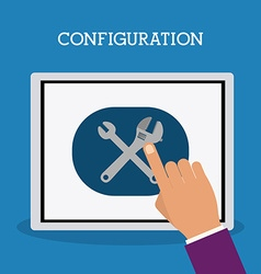 Configuration design vector