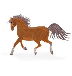 Brown-horse vector