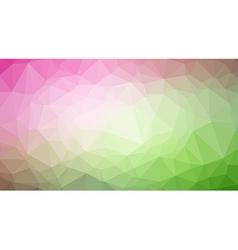 Low Poly trangular trendy Art background vector image