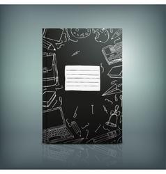School Test Book 04 B vector image