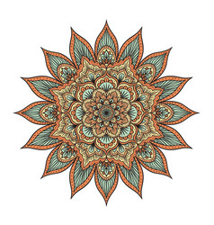 Mandala isolated on white vector