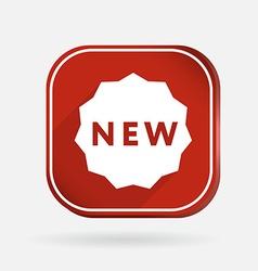 label new Color square icon vector image
