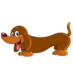 Dachshund dog vector